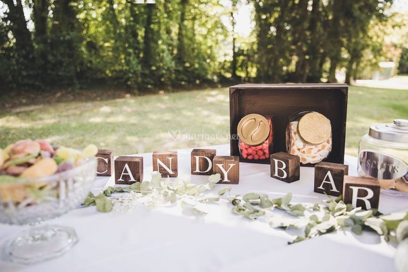 Lettres Candy Bar