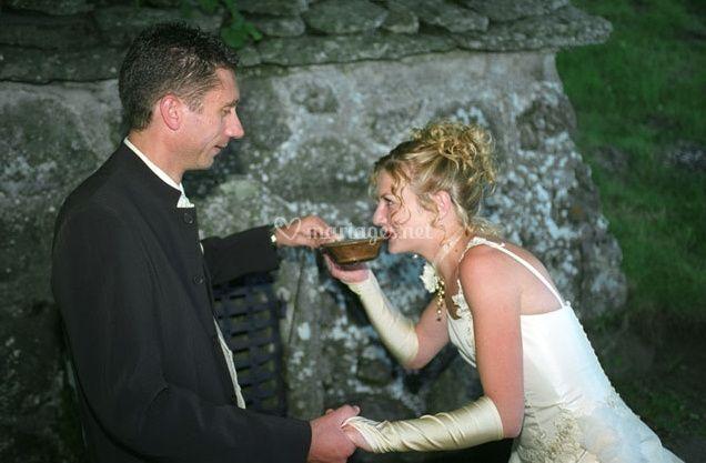 Philippe Croquet© pose des mariés