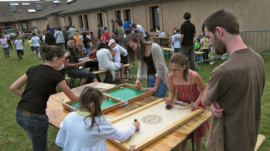 Passe trappe hockey sur table