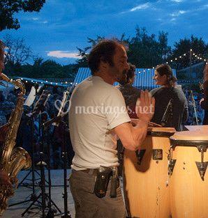 Pacho Combo Salsa - percussions