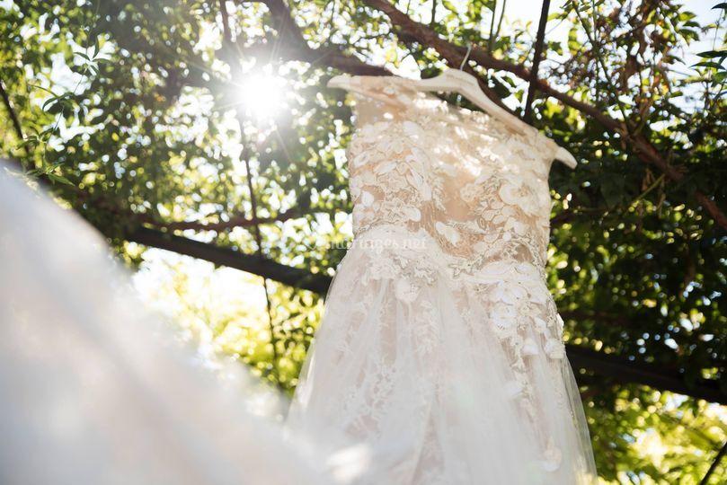 La robe, sous le soleil