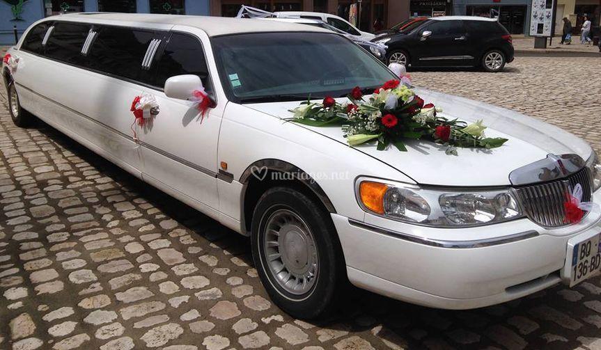 Limousine fleurs