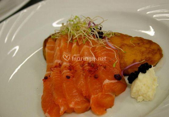 Délice de saumon