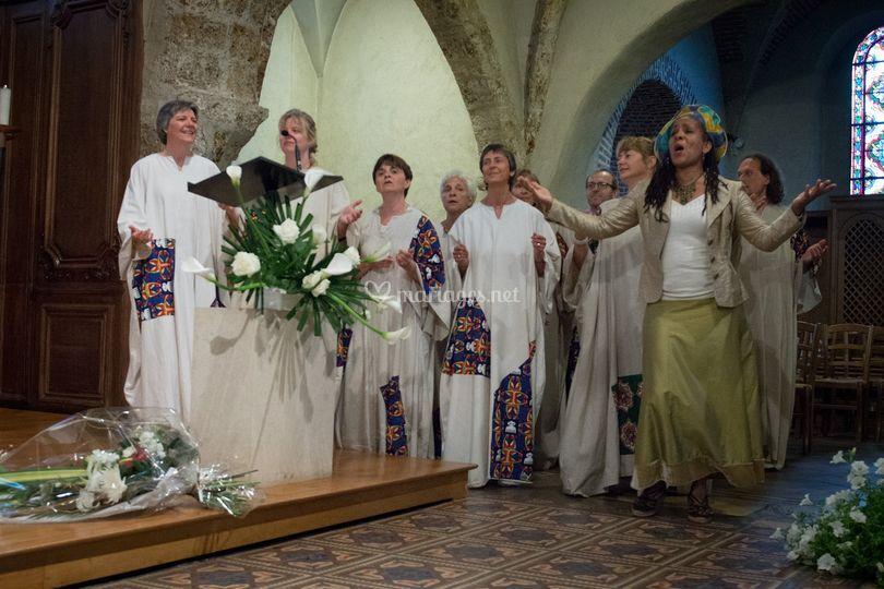 Messe de mariage