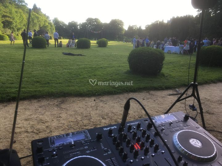 Cocktail dans le parc