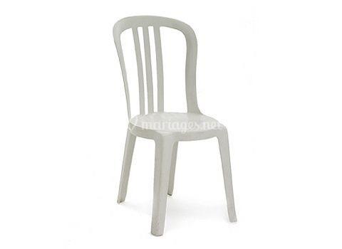 """Chaise plastique """"Style"""""""