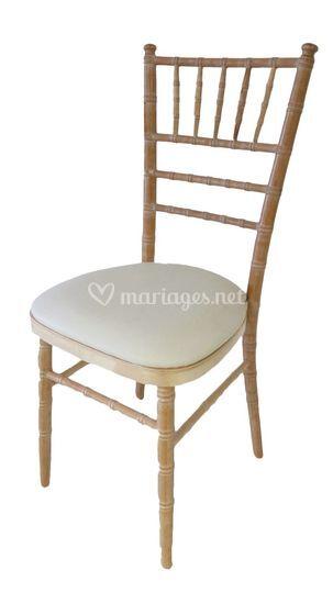 Chaise chiavari cerisé bois