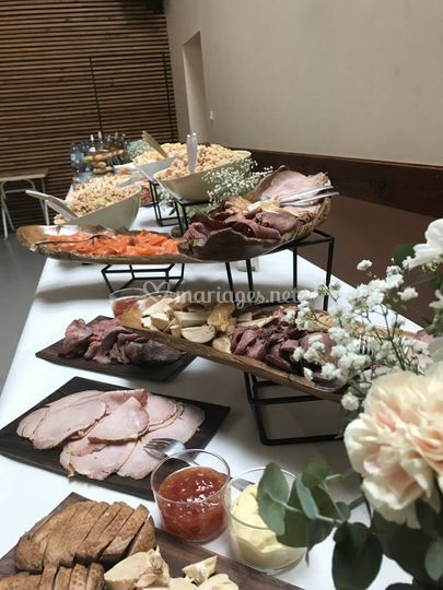 Buffet froid brunch
