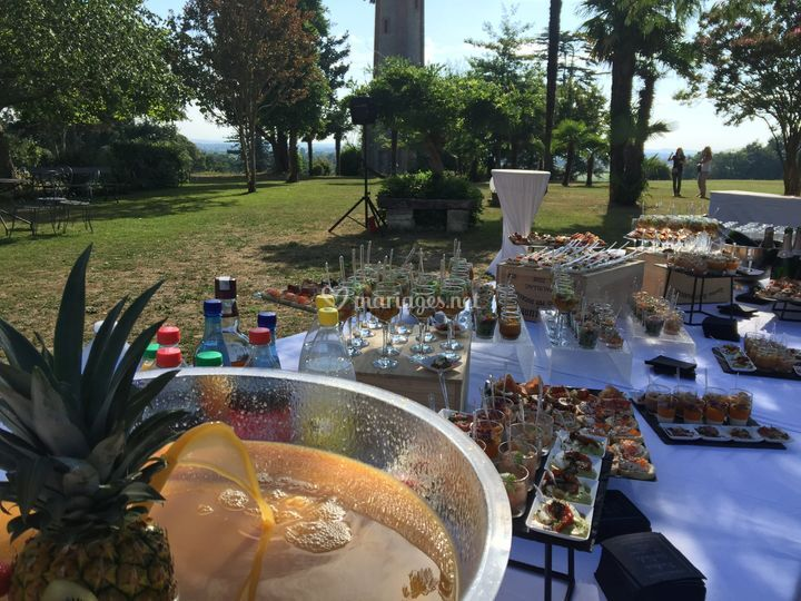 Buffet de cocktail