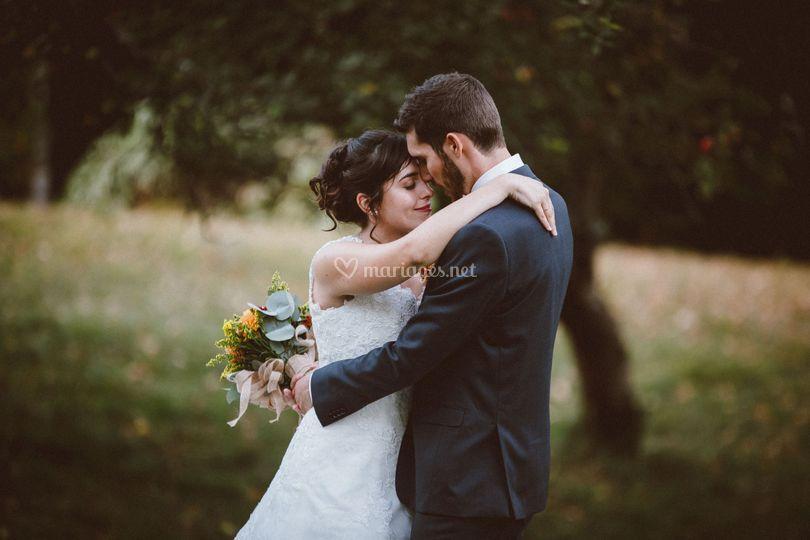 Automne -photos de couple