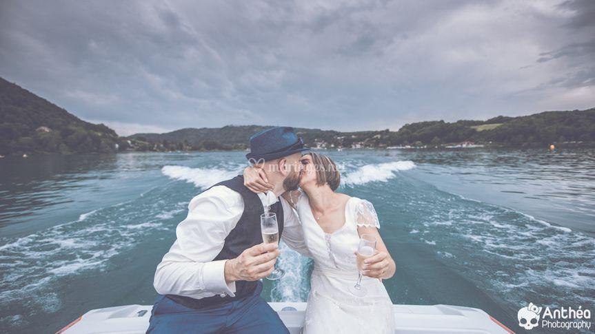 Mariage à la montagne Lac