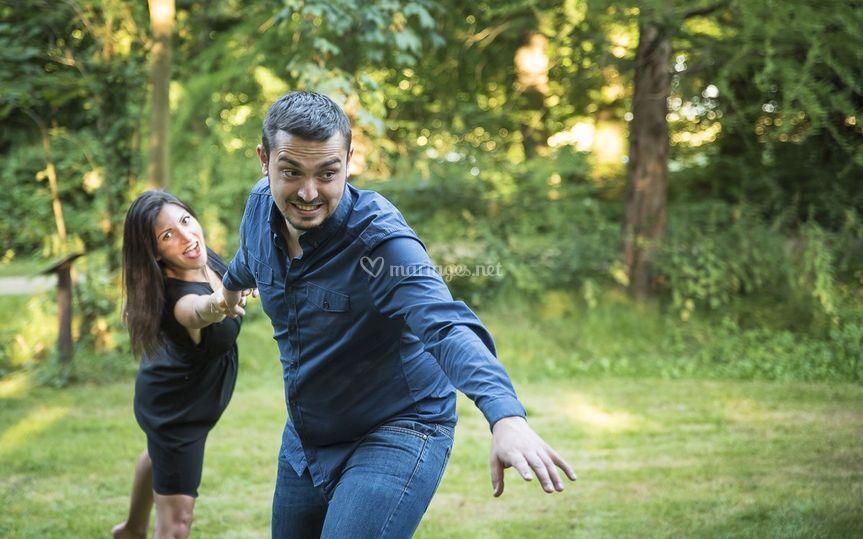 Engagement Loréna et Chris