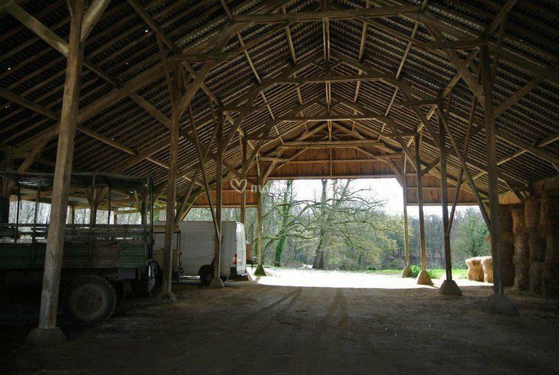 La grange avant les travaux