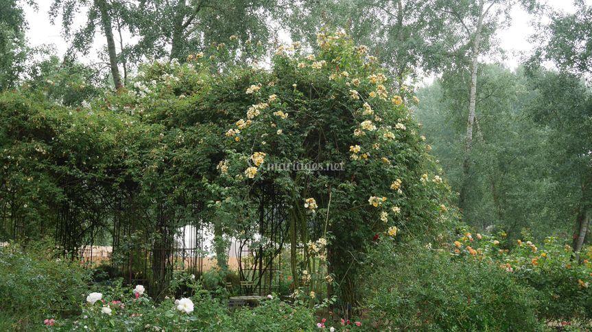 La grande tonnelle - jardin