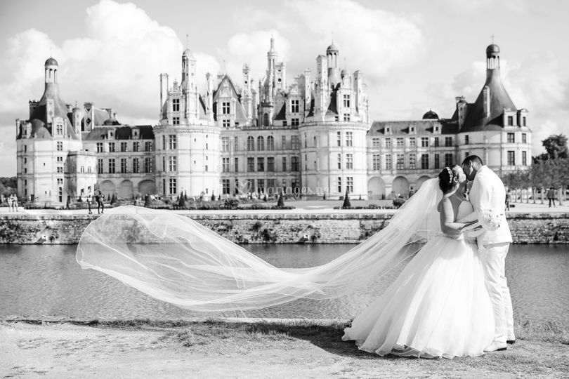 Couple à Chambord