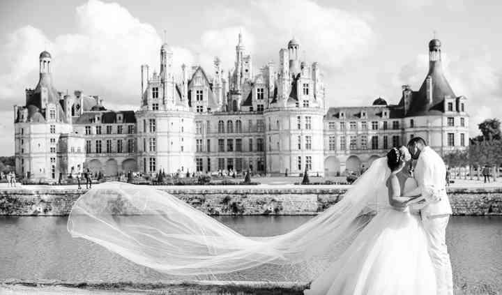 Couple à Chambord