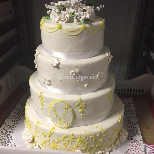 Wedding cake détails