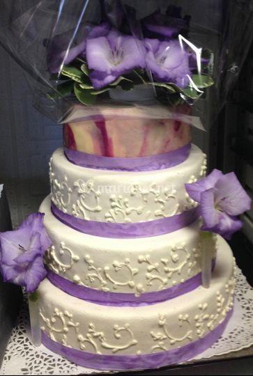 Wedding fleur naturelle