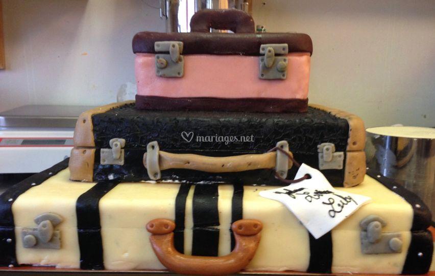 Wedding voyage valise