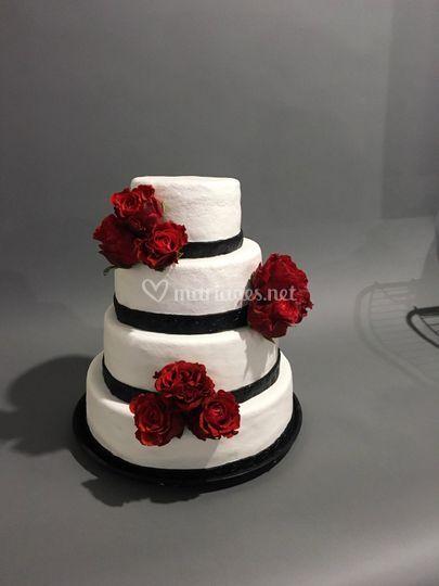 Wedding cake chic et elegant