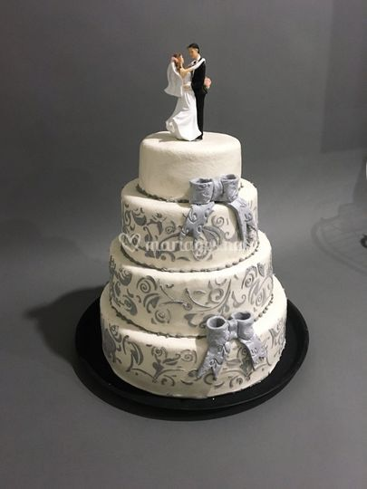 Wedding cake chic et elegant