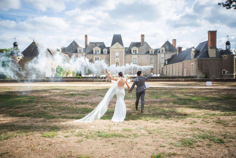 L'entrée des mariées