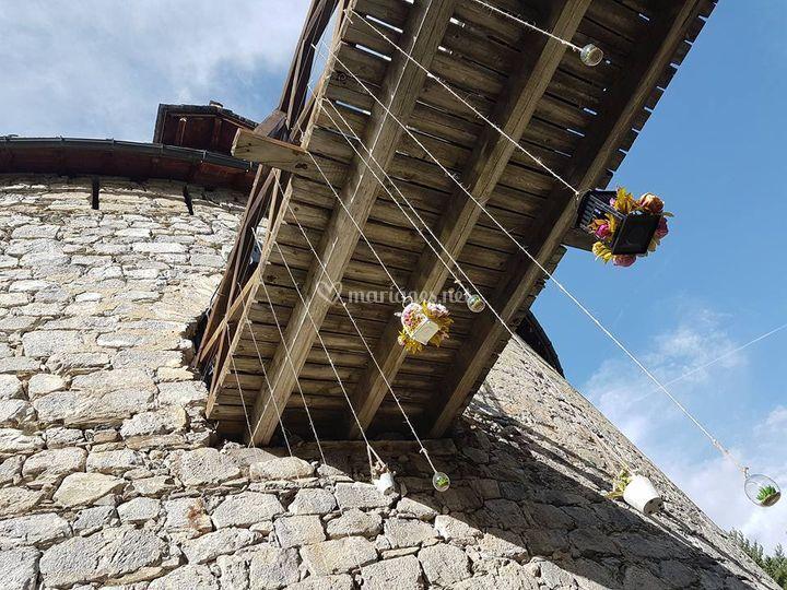 Pont dormant - accès étage