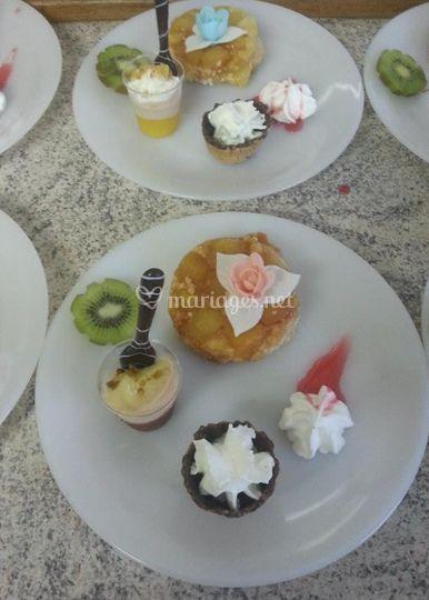 Dessert Composé