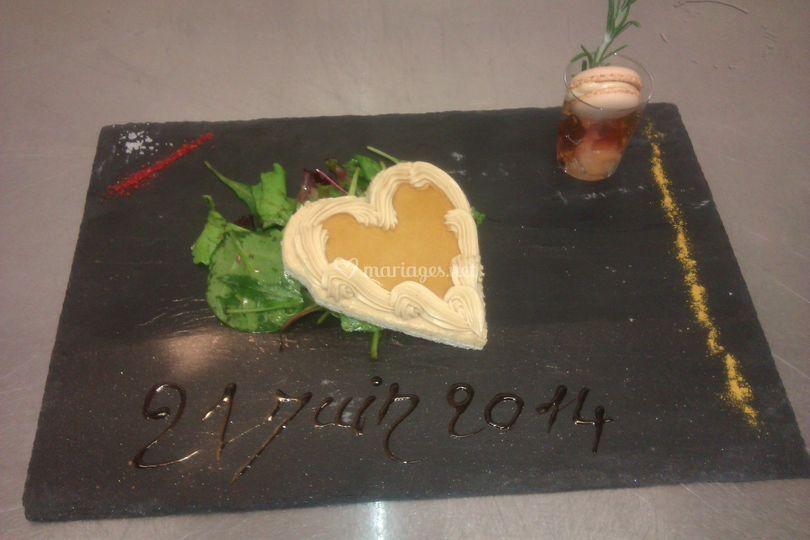 Coeur de foie gras