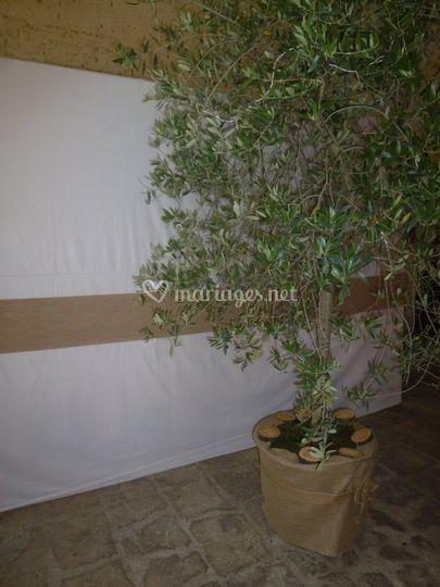 Décoration olivier