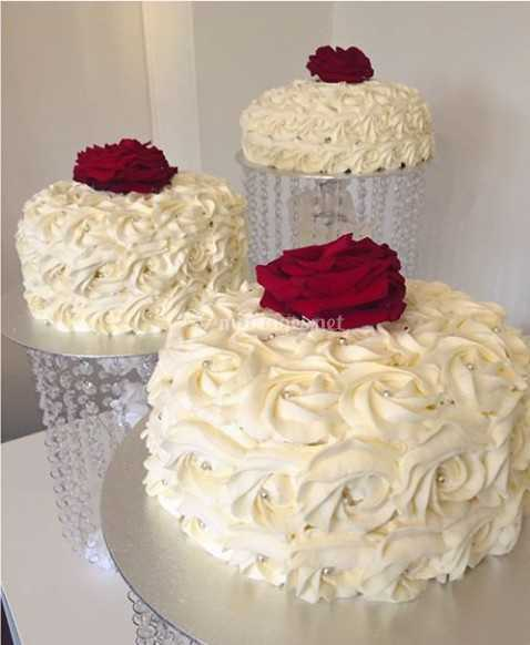 Rose Cake Mariage De Wonderful Cake Photo 2