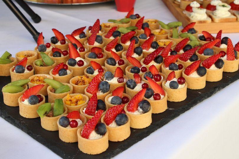 Tartelettes fruits de saison