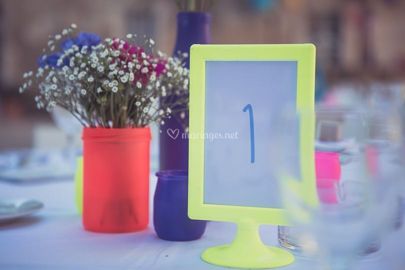 Mariage fluo