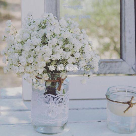 Decoration mariage champêtre