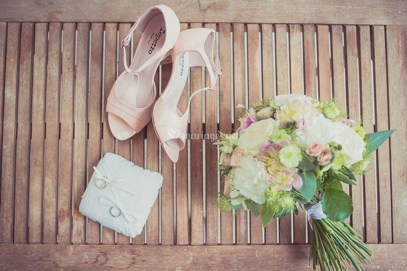 Chaussures de mariée Repetto