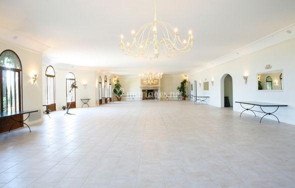Grande salle de réception