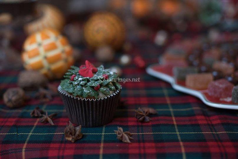 Wedding Cupcake Noël