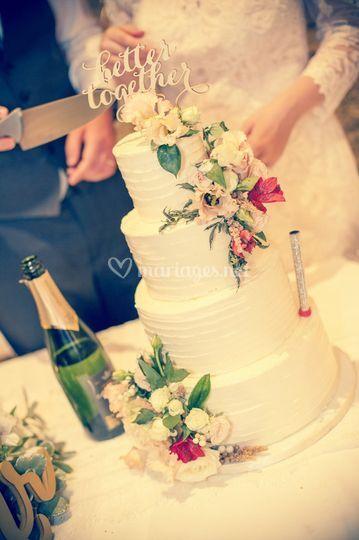 Wedding Cake à la crème