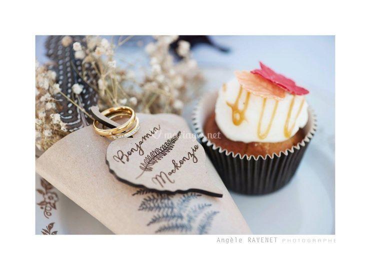 Cupcake - thème Eté Indien