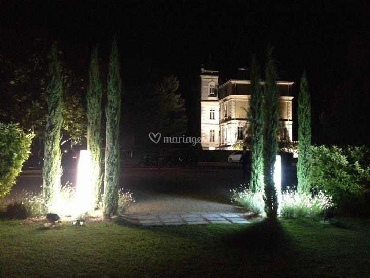 Château en nocturne