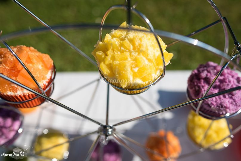 Cupcakes cristaux de sucre