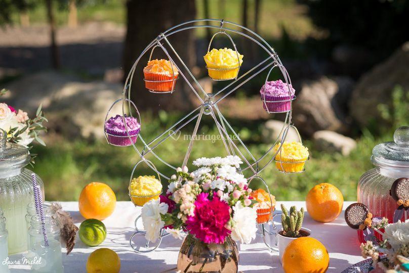 Manège à cupcakes