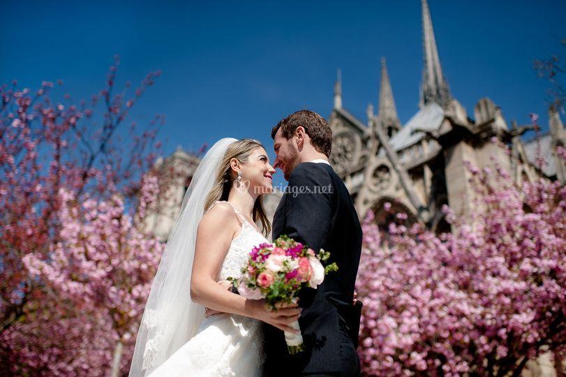 Mariés à Paris