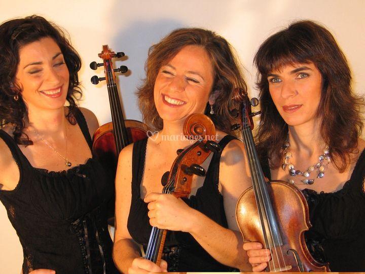 Celia, Anne-Lise, Isabelle