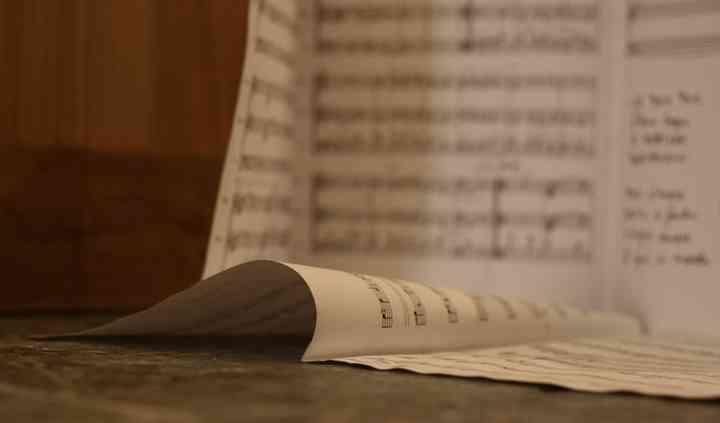 Une page de musique