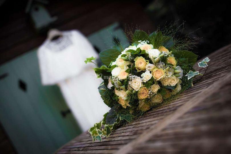 Bouquet, robe
