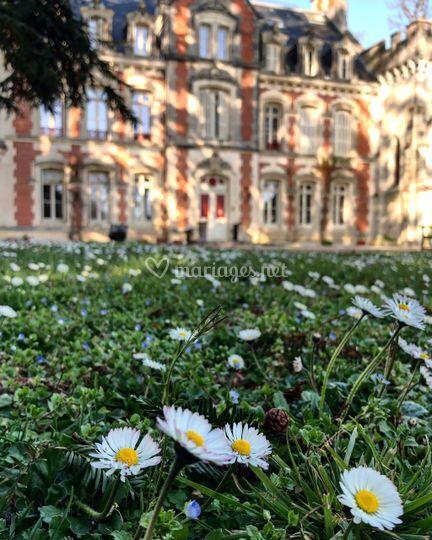 L'arrivée de l'été au Château