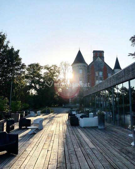 La terrasse de l'orangerie