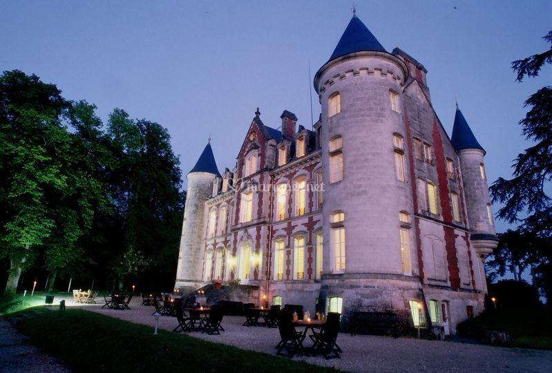 Le Château vu de nuit