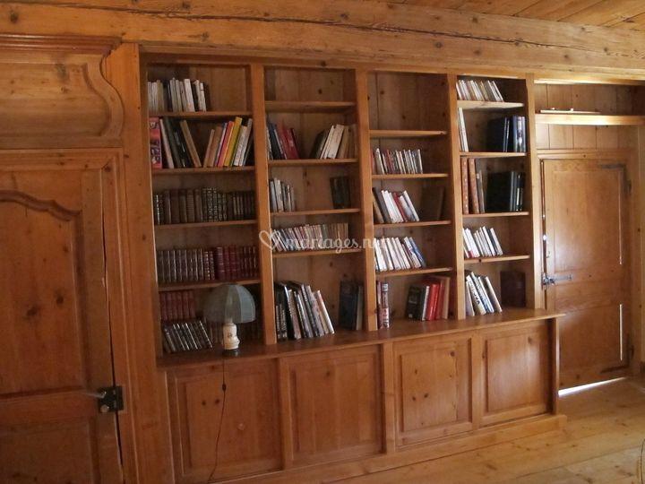 Bibliothèque suite Mimosas